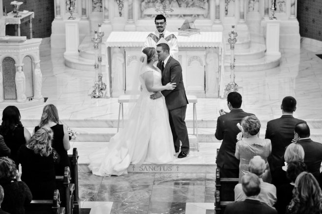 View More: http://sethmorrisphotography.com/gallery/sacred-heart-wedding-cornerstone-reception-photography-peoria-il/